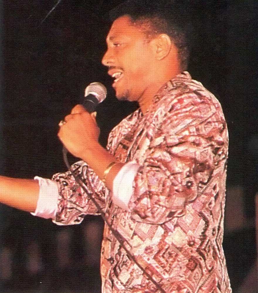 Former calypso Monarch Cro-Cro: his first victory stunned the nation - everyone thought he was too controversial to win. Photograph by Mark Lyndersay