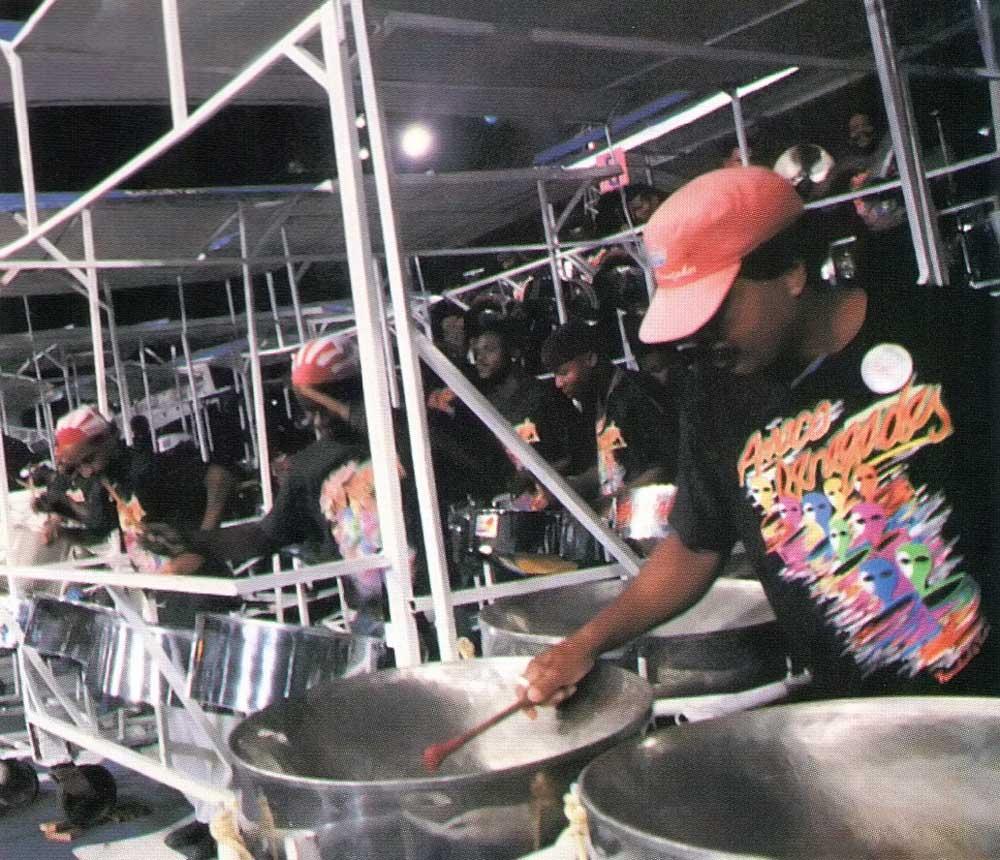 1992 Panorama Champions: Amoco Renegades. Photograph by Abigail Hadeed