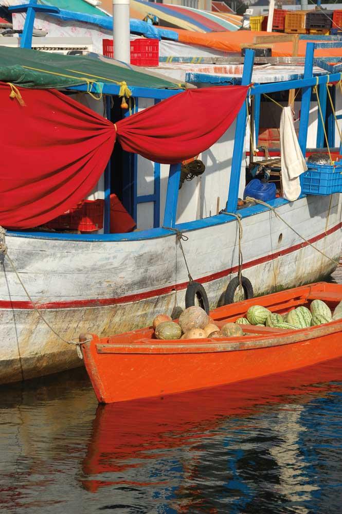 Floating Market, Willemstad, Curaçao. Photograph by sbossert/shutterstock.com
