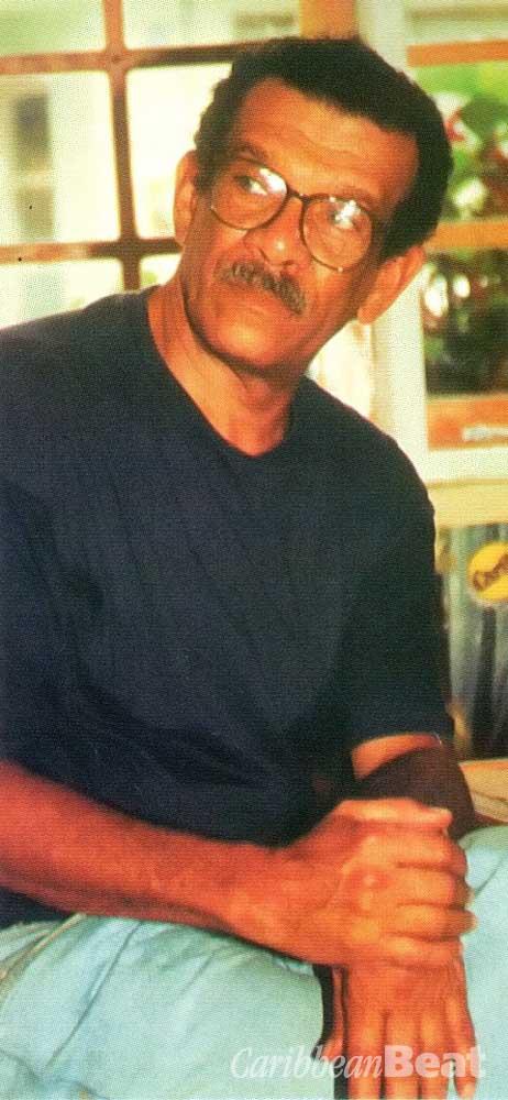 Nobel prizewinner Derek Walcott. Photograph by Bruce Paddington
