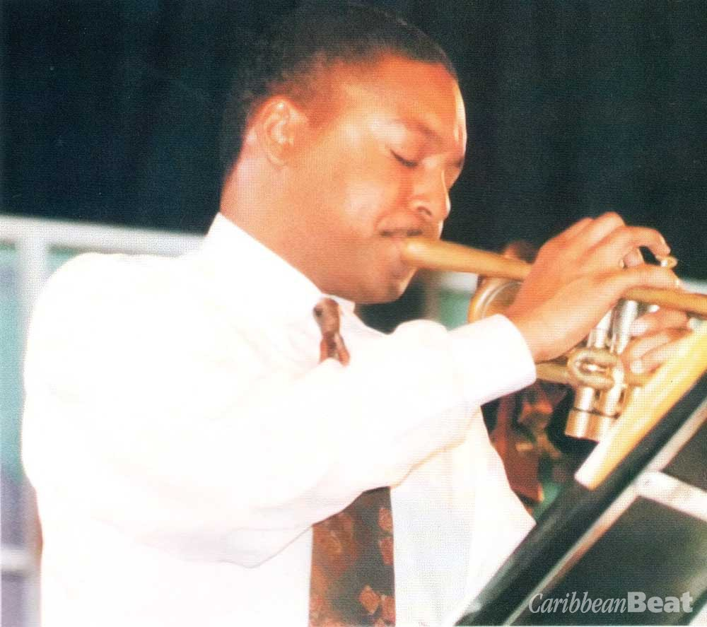 Working Barbados's Paint It Jazz festival: Wynton Marsalis