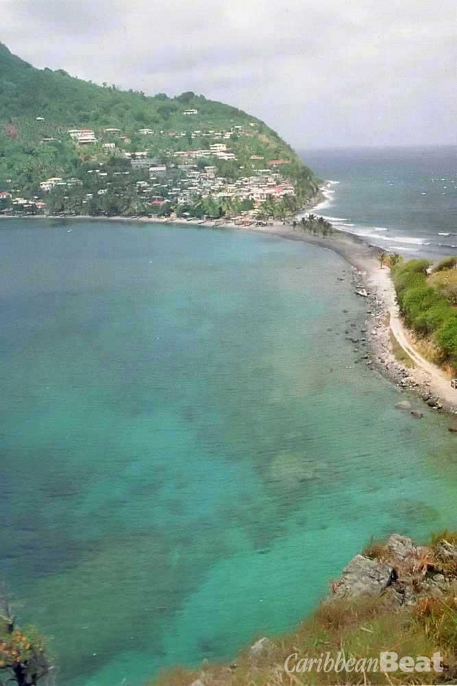 Part of Dominica's new Soufriére/Scott Head Marine Park. Photograph by Roxan Kinas
