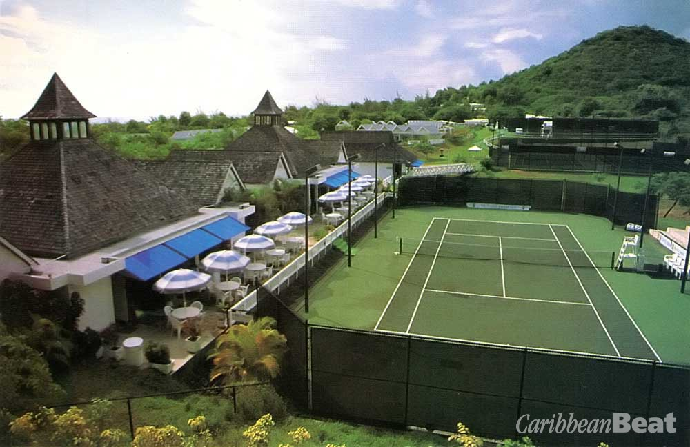 The new St Lucia Racquet Club. Photograph by Chris Huxley