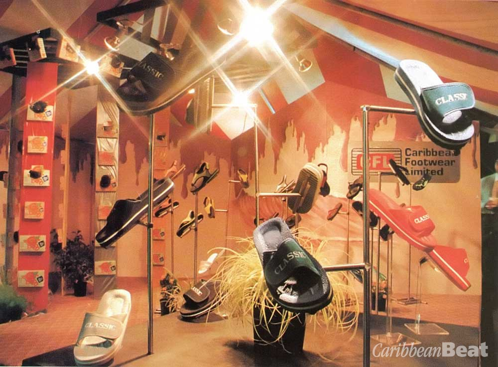 The last Expo, staged in 1990: Caribbean footwear on display. Photograph by Butch Limchoy/ EDC