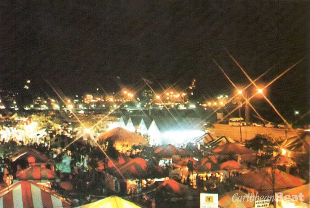 The last Expo, staged in 1990: after-dark action. Photograph by Butch Limchoy/ EDC