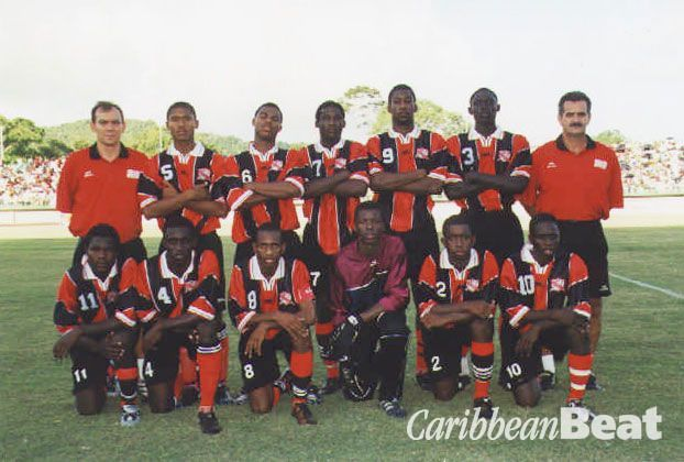 Trinidad and Tobago Under- 17 football team. Photograph by Naimchand Bissessar/ TTFF/ COTT