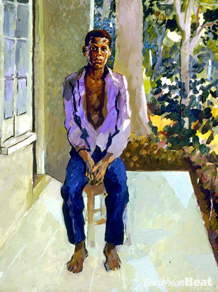 Boy in the Purple Shirt (1978; 45.5 cm x 35.5cm; from the collection of Fong Tom). Photograph by Franz Marzouca
