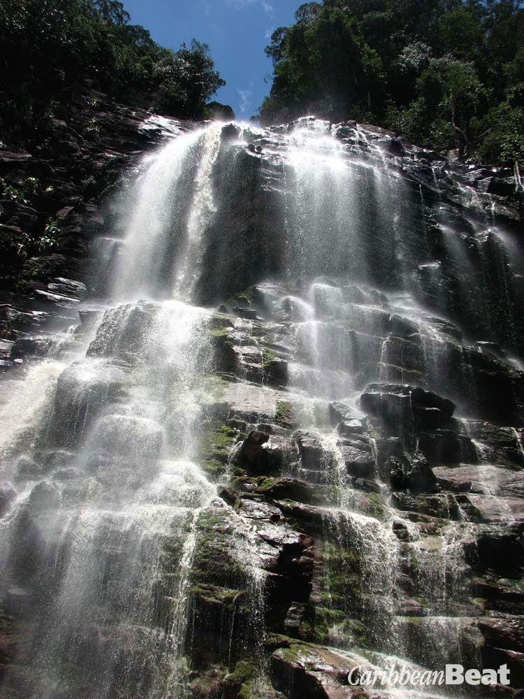 Stone Creek Falls. Photograph by Nicholas Laughlin