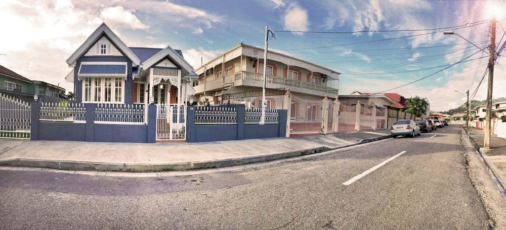 65 Gallus Street, recently restored by architect Laura Narayansingh. Photograph courtesy Laura Narayansingh