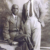 With his father, Henry Williams. Photograph courtesy Mrs Flora Gittens