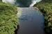 At Guyana's Kaieteur Falls the Potaro River plunges 741 feet into a sandstone gorge. Photo © Pete Oxford / DanitaDelimont.com