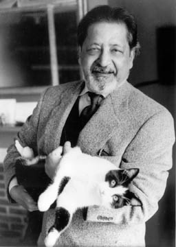 Author V.S. Naipaul. Photograph by Jerry Bauer courtesy Picador