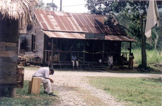 Exterior of Ramlogan's shop. Photograph by Albert Laveau