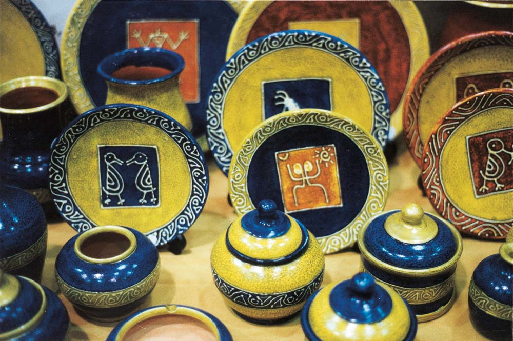 Dominican pottery. Photograph by Wayne Cezair
