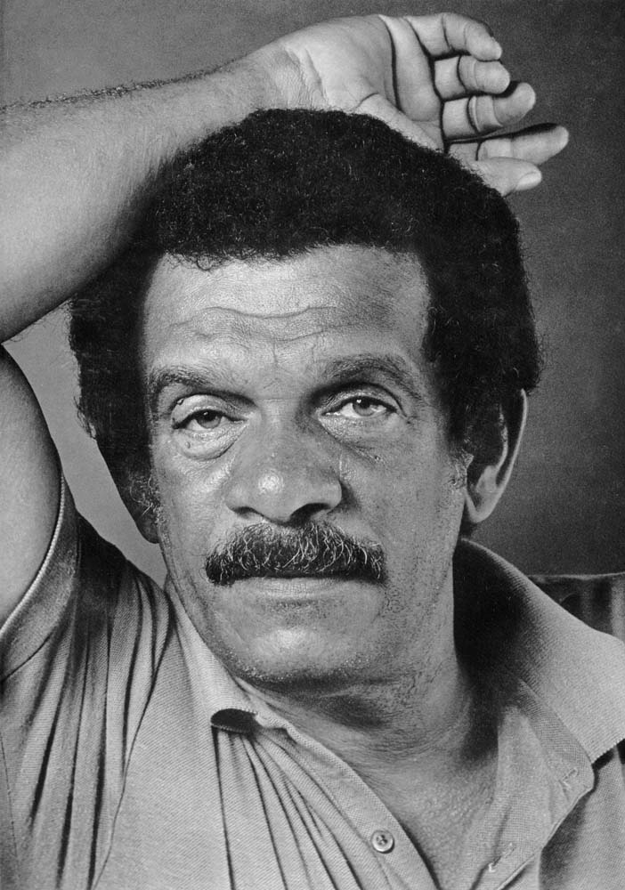 Derek Walcott. Photograph by Mark Lyndersay