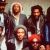 Marley with the Wailers in the lobby of the Kensington Hotel, London, 1980, perhaps the only time Marley has been photographed with the entire band. Photograph by Adrian Boot