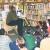 Tall Tales: reading to Oakland schoolchildren. Photograph courtesy Adonal Foyle