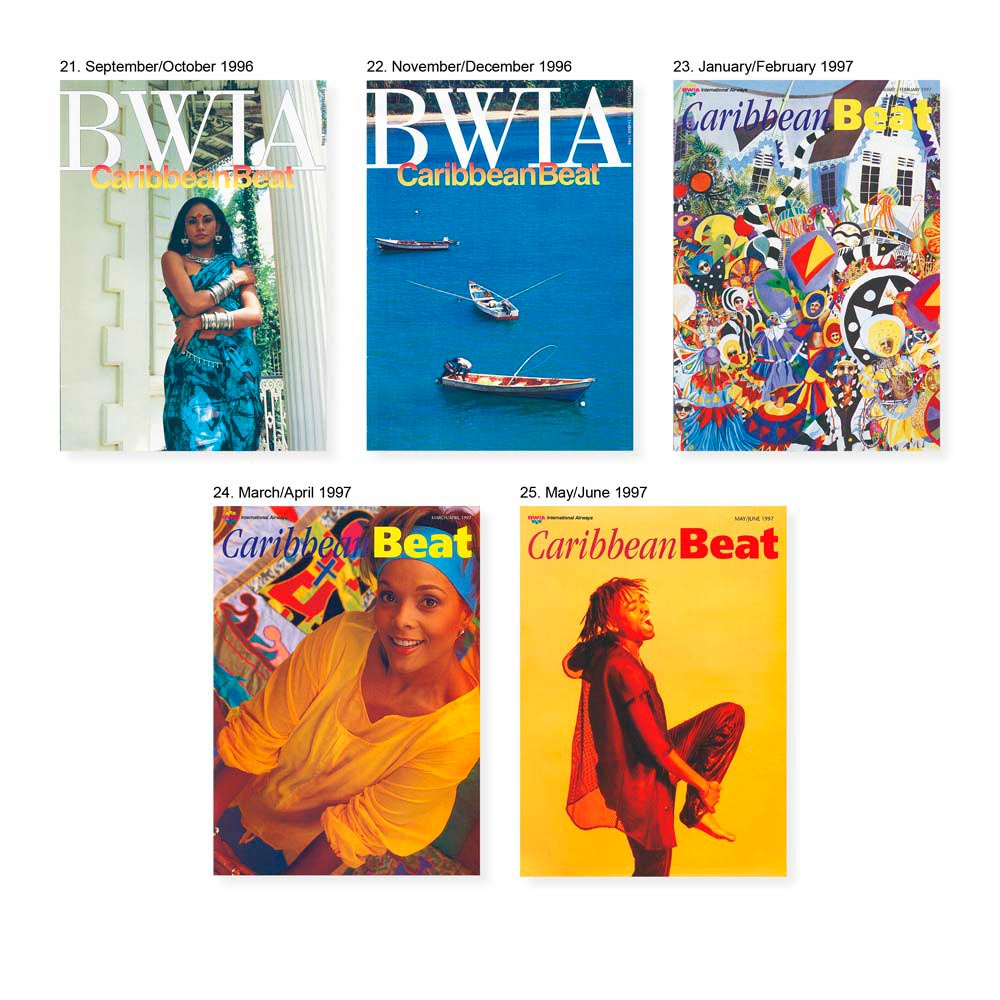 Cover images by: from left- Sonya Sanchez- Arias, Mark Lyndersay, Brian Wong Won, Abigail Hadeed, Delicious Vinyl