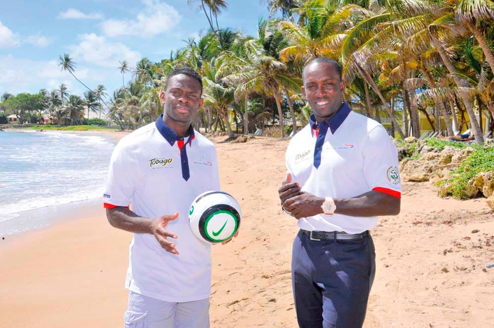 Photograph courtesy Tobago Football Legends Challenge