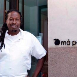 Chef Paul Carmichael. Photograph by Gabriele Stabile, courtesy Má Pêche
