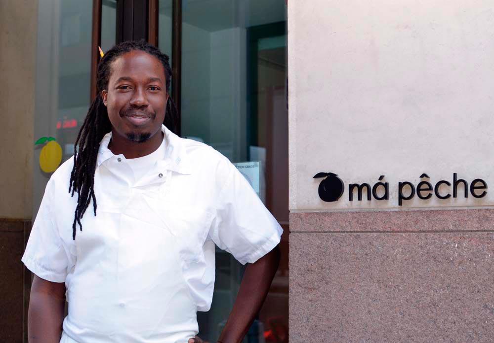 Chef Paul Carmichael. Photograph by Gabriele Stabile, courtesy Má Pêche