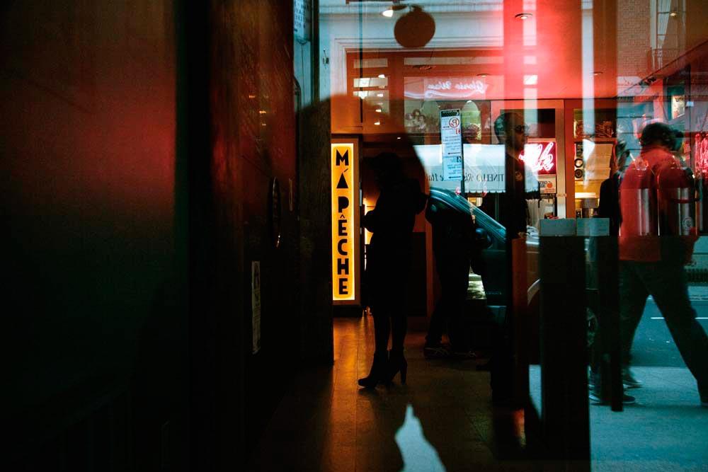 Trendy Má Pêche in Midtown Manhattan. Photograph by Gabriele Stabile, courtesy Má Pêche