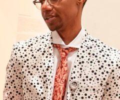Bahamian artist Lavar Munro. Photograph courtesy Lavar Munroe