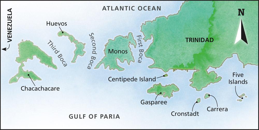 Trinidad's north-western peninsula