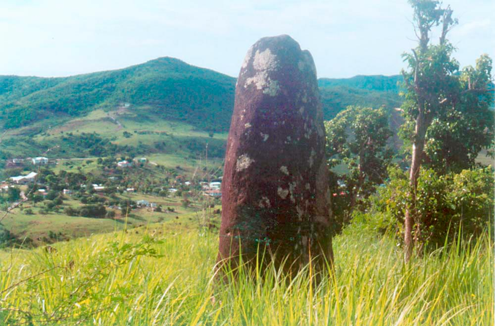 An isolated megalith stands guard. Photograph by Simon Lee