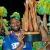Barbados Tridents captain Keiron Pollard hoists the 2014 CPL trophy. Photography courtesy CPL/Getty Images