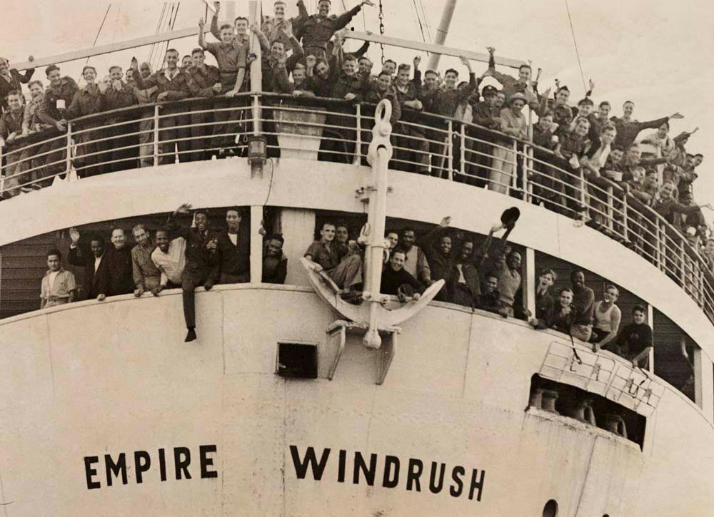 The Empire Windrush brought Trinidadian calypsonian Lord Kitchener, and many other West Indian immigrants, to the UK in 1948. Photograph by Daily Herald Archive/SSPL/Getty Images