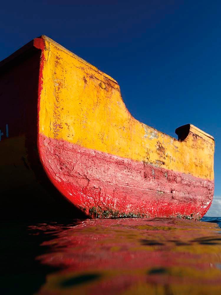 Nato's Boat 1 (2014). Photography by Nadia Huggins
