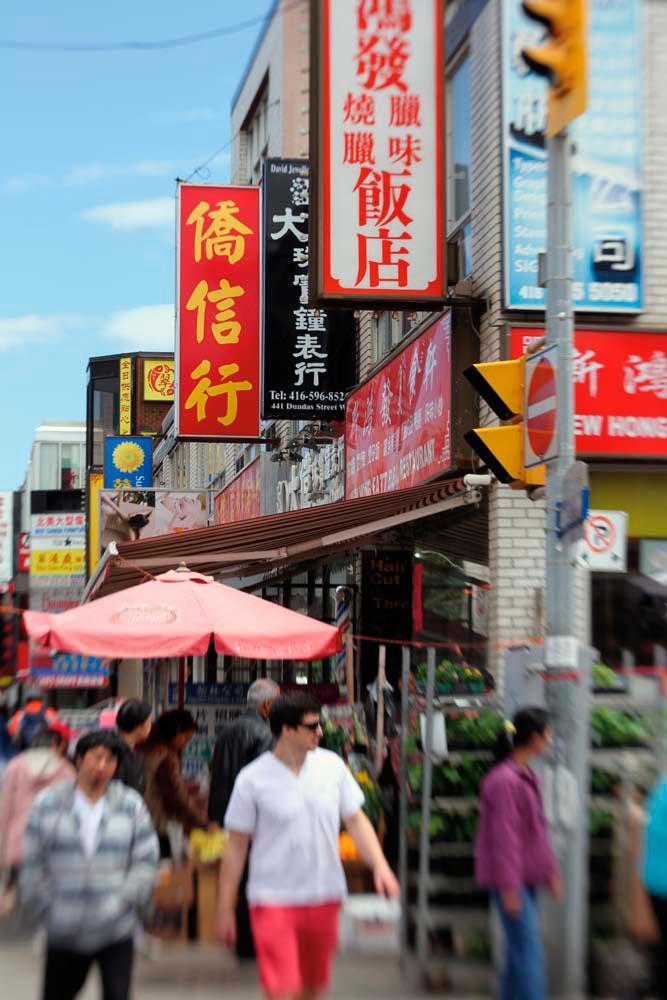 Toronto's original Chinatown is west of downtown. Photograph courtesy Danielle Petti / Courtesy Tourism Toronto