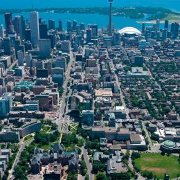 The heart of downtown Toronto. Photograph by Gary Blakeley/Shutterstock.com
