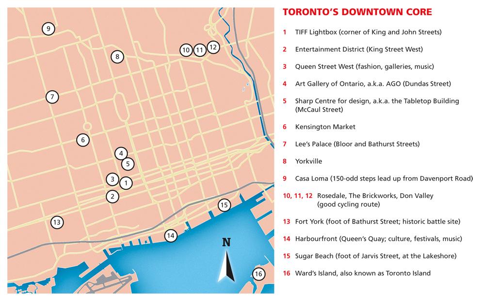 Toronto's Downtown Core