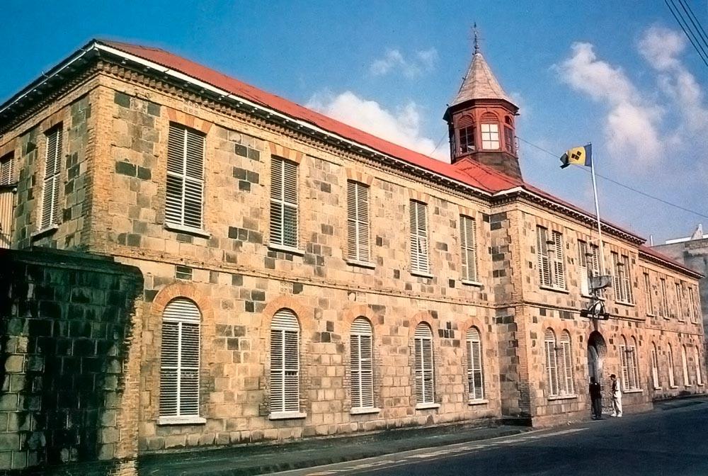 Kingstown Police Station. Photograph by Tony Da Silva