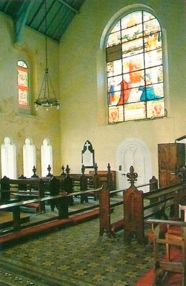 Interior of Anglican Church. Photograph by Tony Da Silva