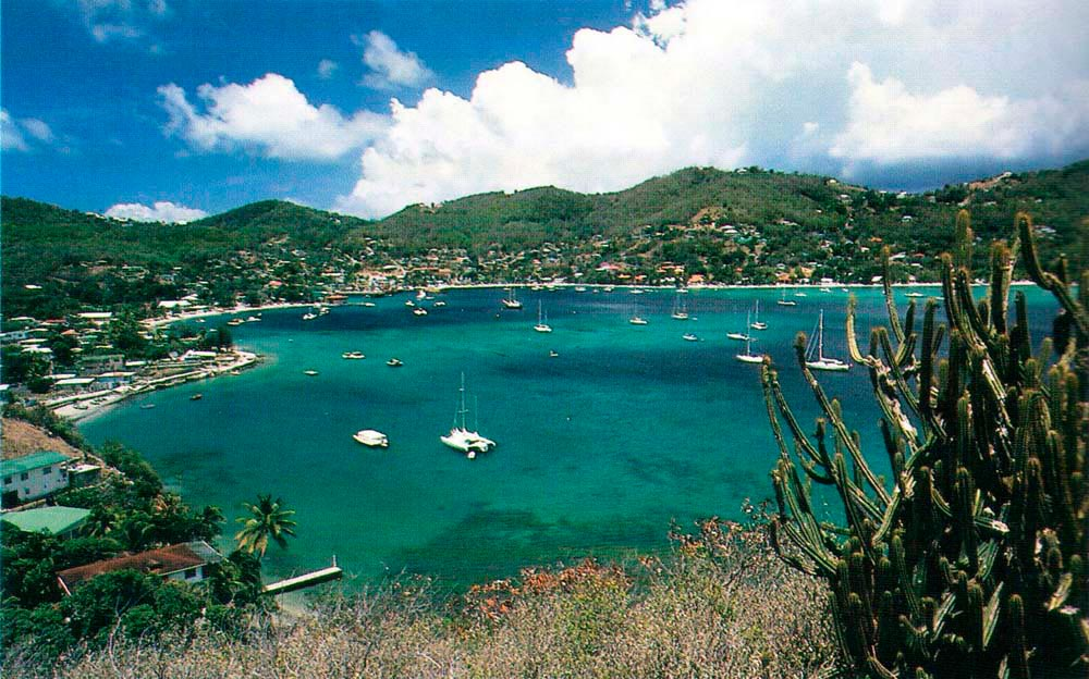 Admiralty Bay, Bequia. Photograph by Chris Huxley