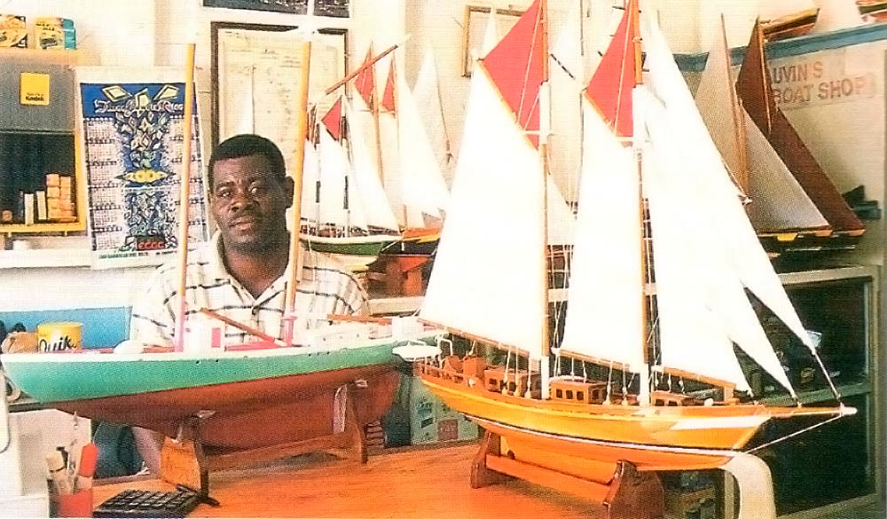 Mauvin's Model Boat Shop, Bequia. Photograph by Chris Huxley