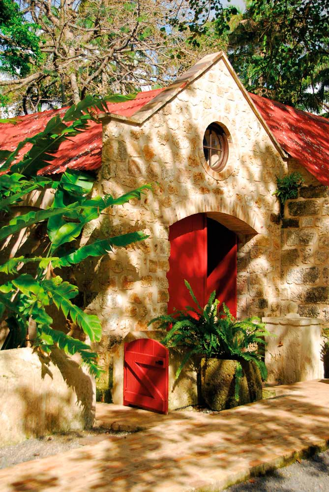 St Nicholas Abbey is one of the most celebrated historical sites in northern Barbados. Photograph by Sofie Warren courtesy St Nicholas Abbey