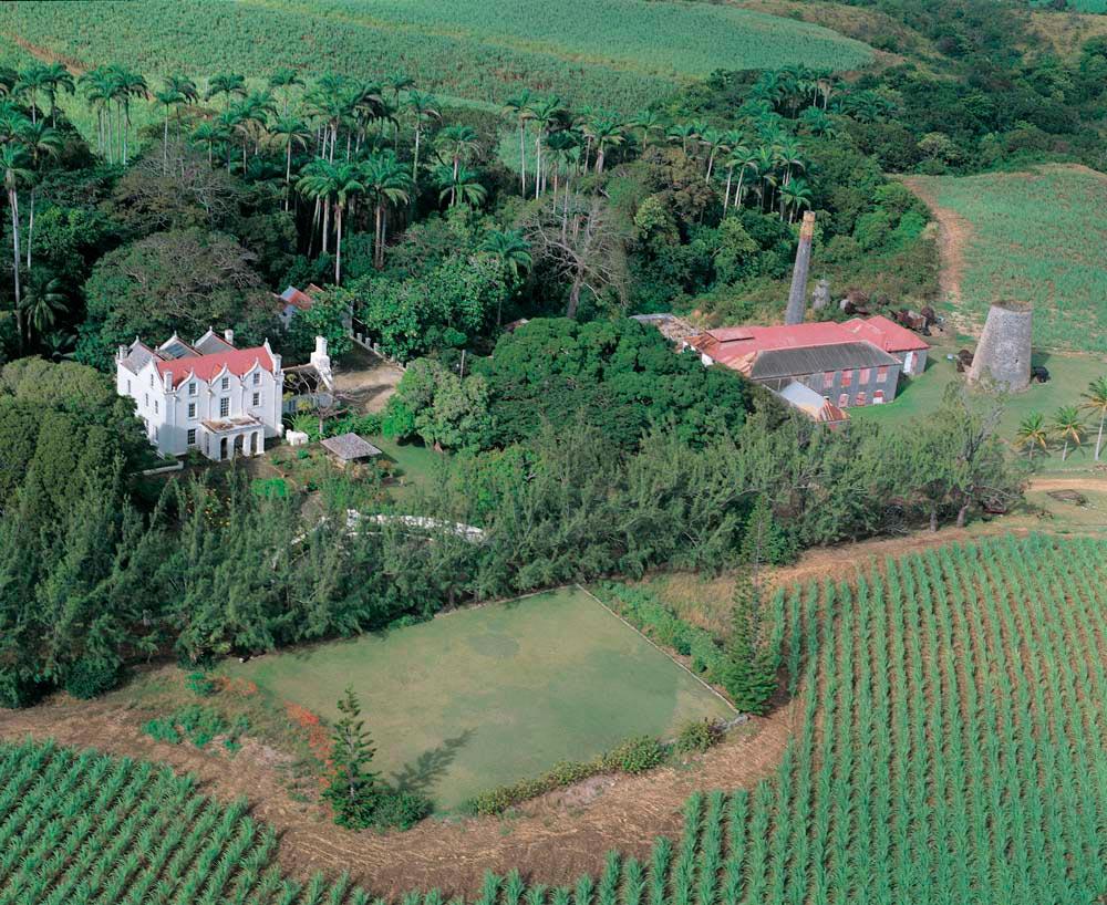 St Nicholas Abbey sits among lush gardens and canefields. Courtesy St Nicholas abbey
