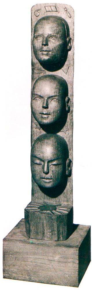Three Heads. Photograph courtesy Cynthia Moody