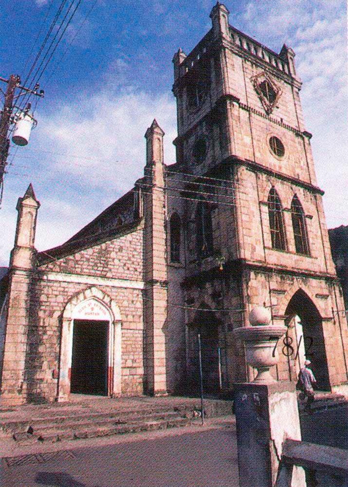 Catholic Church, Soufriere. Photograph by Mark Lyndersay