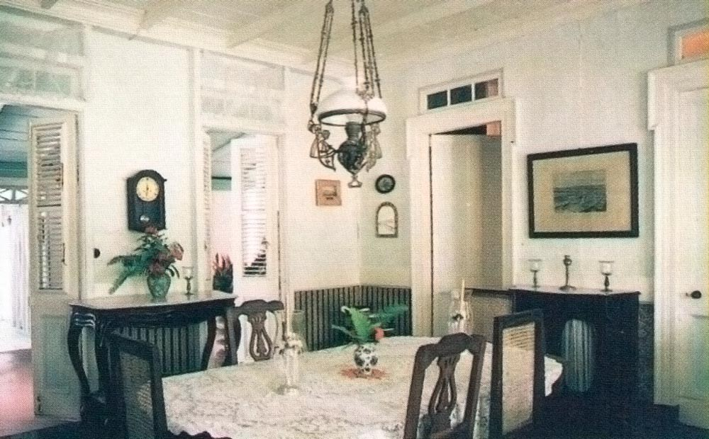 The dining area of the main house. Photograph by Andrea De Silva