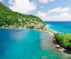 Soufrière Bay, near the southern tip of Dominica. Photo by htomas/iStock.com