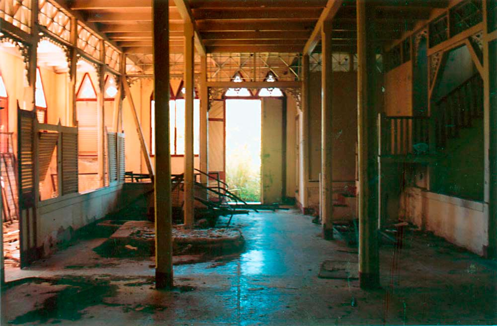 This chapel was used daily by the nuns. Photograph by Catherine Gillo