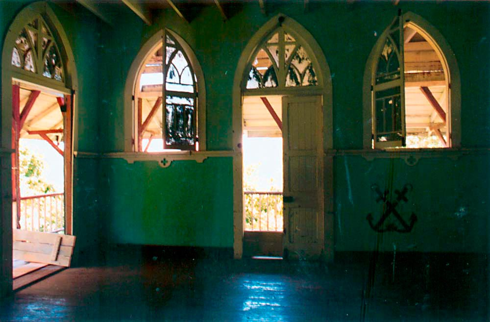 Sister's chapel. Photograph by Catherine Gillo