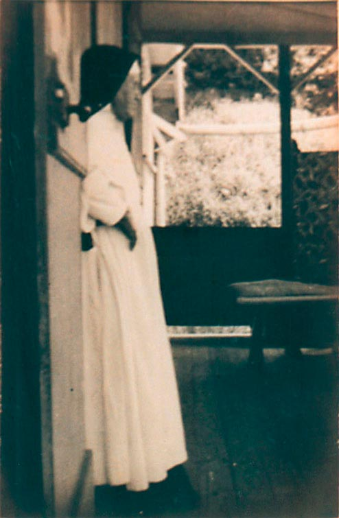 Sister Rose de Sainte Marie Vebert. Photograph by Catherine Gillo