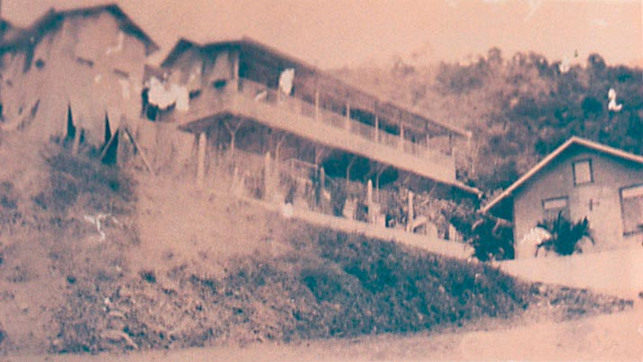 Convent at Chacachacare. Photograph by Catherine Gillo