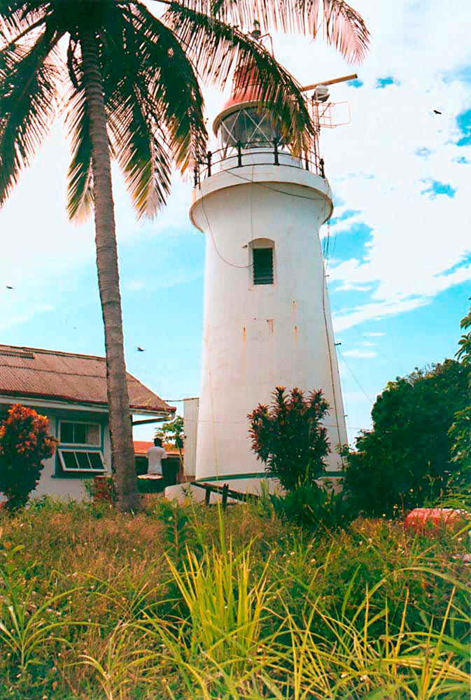 The Chachacare lighthouse was built in the 1870s. Photograph by Catherine Gillo
